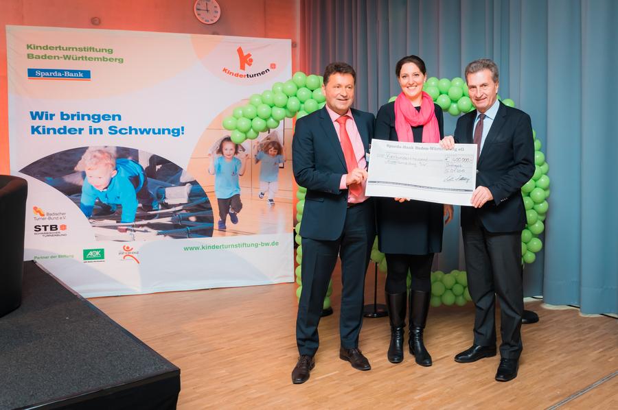 Kinderturnstiftung Sparda Bank Stiftet 400 000 Euro
